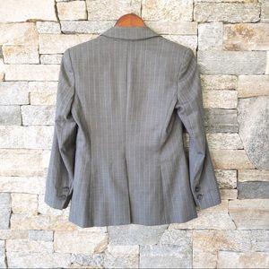 Theory Jackets & Coats - Theory pinstripe dark grey blazer in size 6